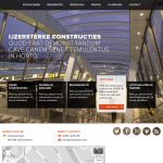 Schets website ontwerp door Active Collective